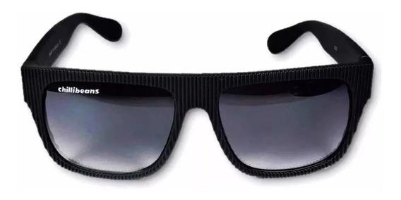 Oculos Sol Chiilibeans Masculino Preto, Oferta Barato Unisex