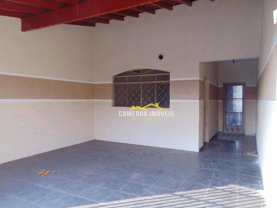 Casa Com 2 Dormitórios Para Alugar, Por R$ 850/mês - Parque Planalto - Santa Bárbara D