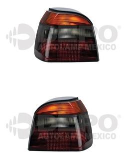 Par De Calaveras Golf A3 Mk3 Humo 1993-1998 Depo