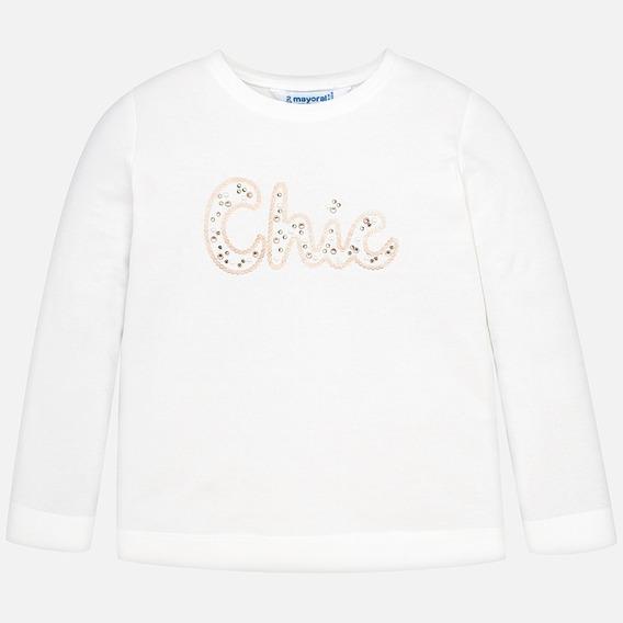 Camiseta Manga Larga Básica Chic Niña Mayoral