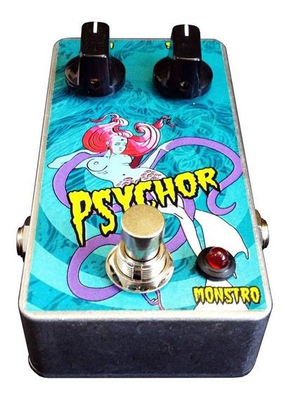 Psychor Chorus Monstro Effects Pedal De Guitarra Handmade