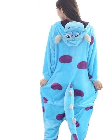 Pijama Mameluco Polar Sully Unisex Monsters