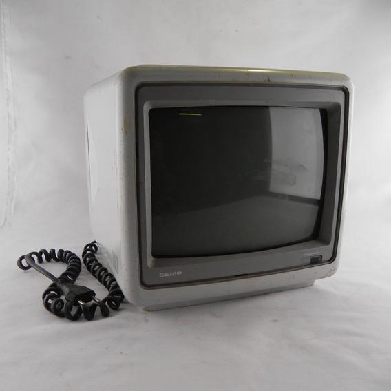 Tv Semp Retro 10 102 Colorida Rf Vintage Gamer Usada