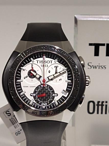 Relógio Tissot T-tracx T010.417.17.031.00 Novo.