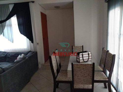 Casa Com 3 Dormitórios À Venda, 179 M² Por R$ 300.000,00 - Núcleo Habitacional Mary Dota - Bauru/sp - Ca2896
