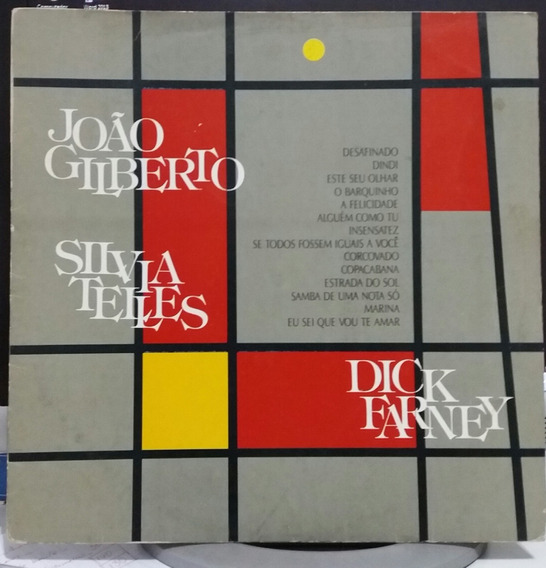 João Gilberto Silvia Telles E Dick Farney 1987 (lp)