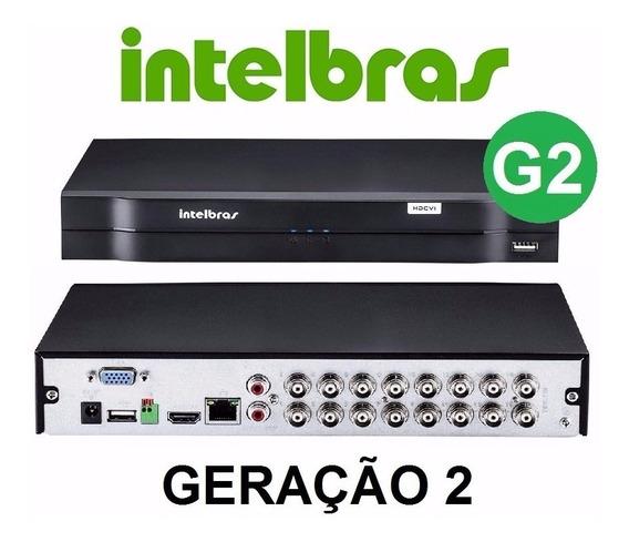 Dvr Intelbras 16 Canais Mhdx 1016 720p / 1080n G3