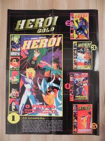 Pôster Revista Herói Gold 5 Capas.