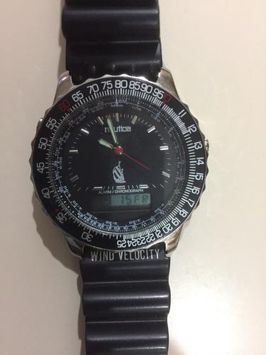 a168087eb97e Reloj Marca Nautica Analógico Deportivo Digital Doble Hora