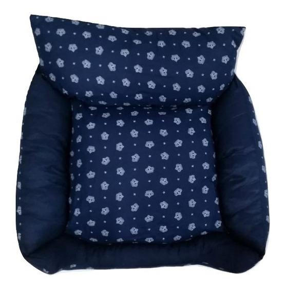Sofa Bercinho Cama P/cachorro Gato Caminha De Alta Qualidade E Conforto Petshop Caes E Gatos Azul