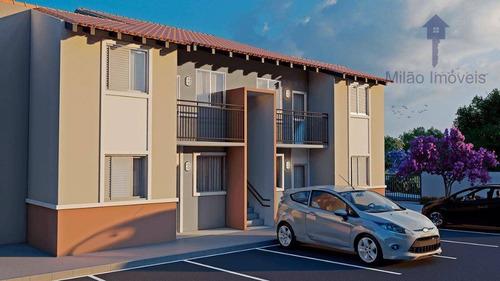 Imagem 1 de 12 de Apartamento Com 2 Dormitórios À Venda, 43 M² - Villa Bella De Votorantim - Votorantim/sp - Ap1430