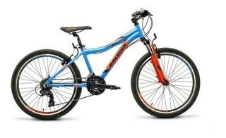Bicicleta Raleigh Rodado 24 Scout Aluminio Suspensión 21 Vel