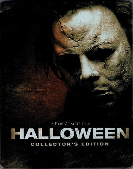 Halloween 2007 Rob Zombie Steelbook Pelicula Blu-ray
