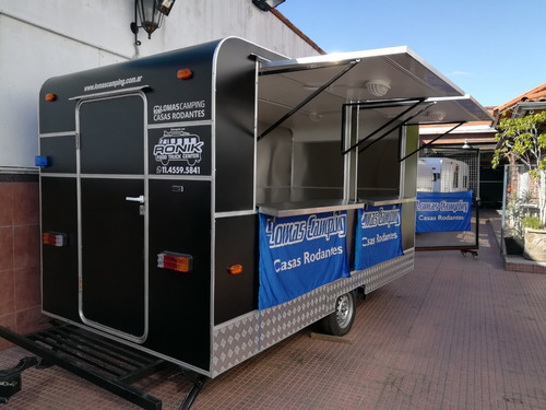 Food Truck Trailer Gastronomico  Modelo 400 Ronik Full