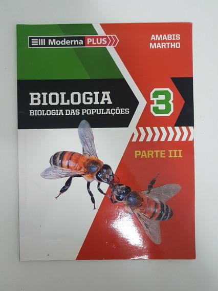 Livro Biologia Volume 3 - Biologia Das Populaçoes