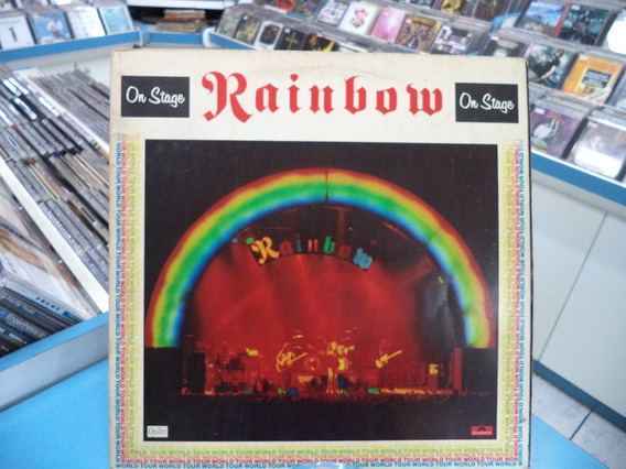 Lp/vinil Rainbow On Stage