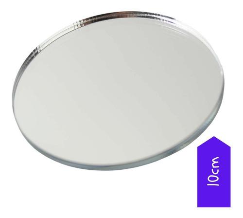 Espelho Redondo Acrilico 20pç 10cm