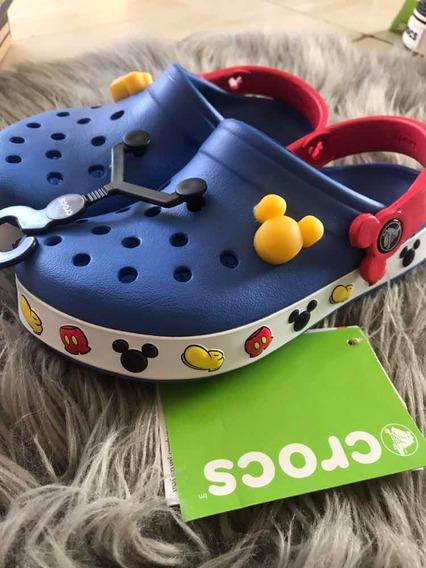 Crocs Disney Con Luces Importados De Usa