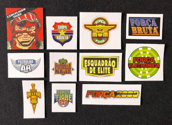 Adesivos Comandos Em Ação Estrela Logotipos