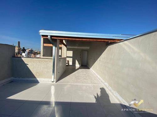 Cobertura À Venda, 88 M² Por R$ 330.000,00 - Parque Capuava - Santo André/sp - Co0642