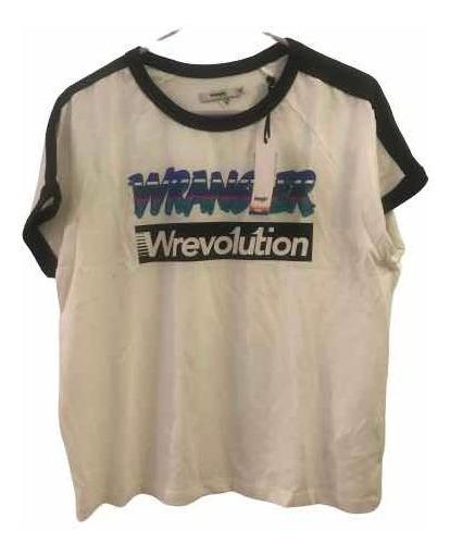 Remera Wrangler Revolution Color