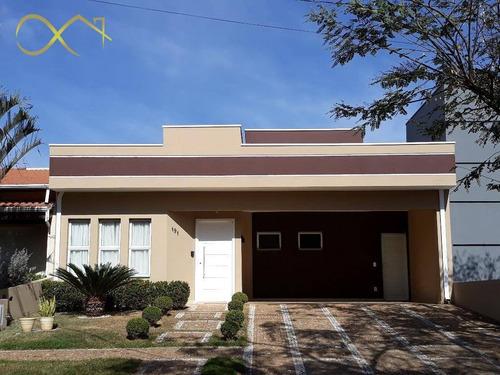 Casa Com 3 Dormitórios À Venda, 177 M² Por R$ 750.000,00 - Condomínio Campos Do Conde 1 - Paulínia/sp - Ca1406