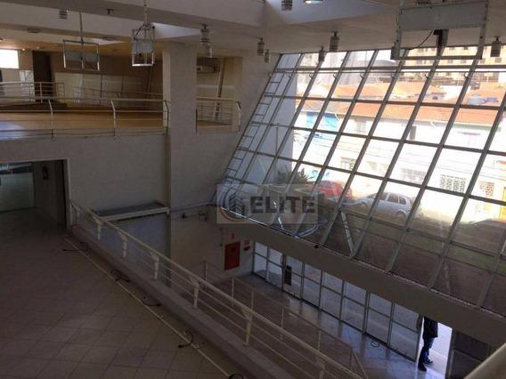 Sensacional Salão São Cetano Do Sul, Bairro Barcelona, 30 Vagas No Sub-solo, Oportunidade, Venha Conferir. - Sl0024