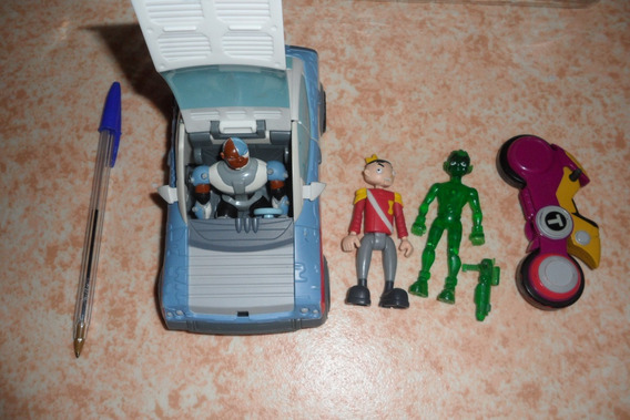 Teen Titans Go Robin Mutano Ravena Estelar Cyborg