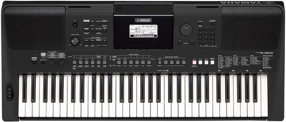 Teclado Yamaha Arranjador Psr-e463 - 61 Teclas