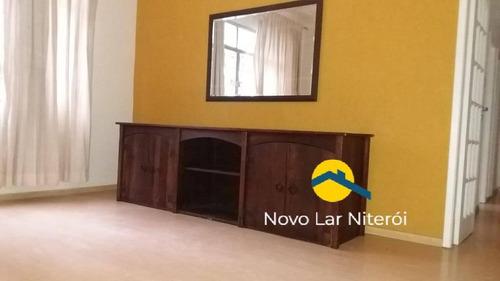Imagem 1 de 15 de Excelente Apartamento Na Segunda Quadra Da Praia De Icaraí. - 106