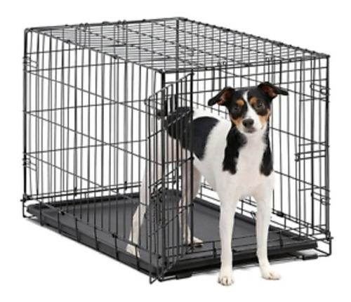 Imagen 1 de 7 de Kennel Jaula Para Mascotas Perros Gatos Transportar L