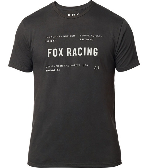 Camiseta Standard Issue Premium Fox