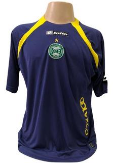 Camisa Oficial Coritiba De Treino - Lotto - 2009 Usada