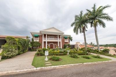 Casa Com 6 Dormitórios À Venda Por R$ 9.800.000 - Parque Reserva Fazenda Imperial - Sorocaba/sp - Ca0122