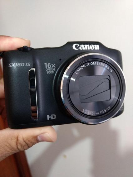 Câmera Digital Canon Powershot Sx160 Is Hd