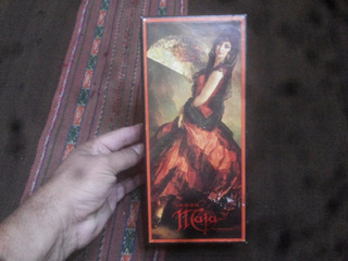 Antigua Caja De Jabon De Tocador Maja Myrurgia Vintage