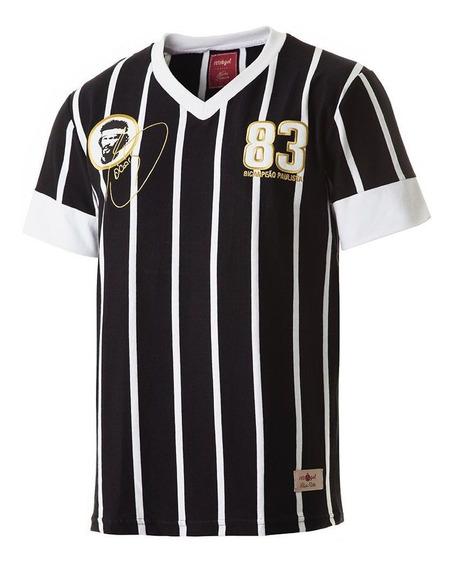 Camisa Corinthians Retrô Gol Sócrates Democracia