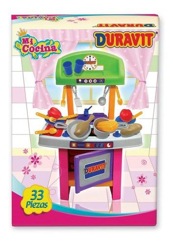 Imagen 1 de 8 de Mi Cocinita Cocina Duravit Chica Con 33 Accesorios