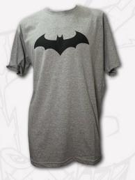 Remera Logo Batman Hombre Gris Roph-44 Dc Comics Extra Large