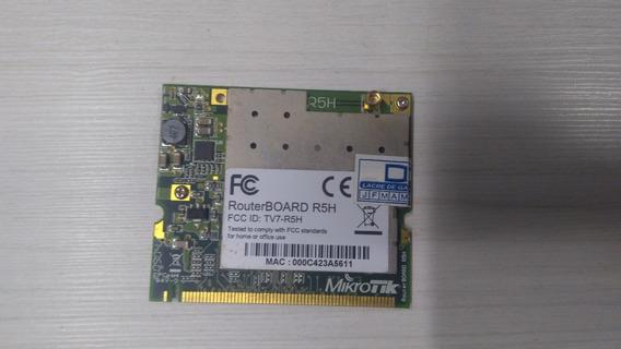 Cartão Mikrotik Mini Pci R5h