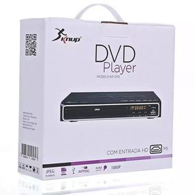 Dvd Player - Saida Hdmi - Karaokê E Ripping Mp3 + Microfone