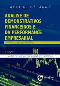Analise De Demonstrativos Financeiros E Da Performance Emp