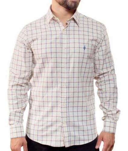 Camisa Quadriculada - Lino A Scacchi
