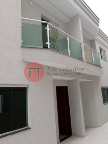 Imagem 1 de 17 de Sobrado Em Condomínio À Venda Em Vila Aricanduva - 250 M Do Metrô Penha - Ajudamos Com 30% No Valor Do Itbi - 4654