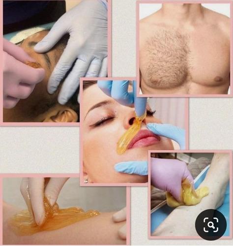 Imagem 1 de 4 de Depilação ,massagens .