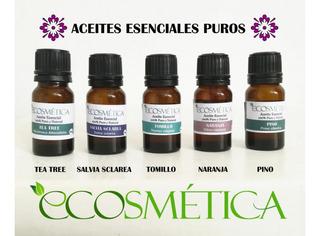 Aceite Esencial Natural De Melisa Frasco 10ml Ecosmetica