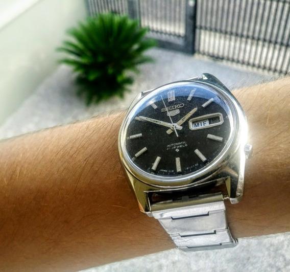 Relógio Seiko 6119, Perfeito Funcionamento, Lindo E Raro!