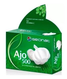 Geonat Ajo 500 Vitamina C X30 Comp Suplemento Dietario
