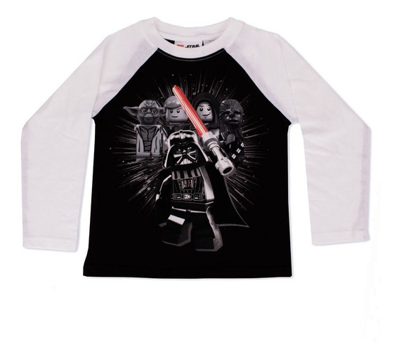 Playera Para Niño Lego De Star Wars Darth Vader En Guerra