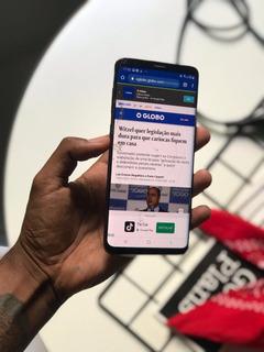 Samsung Galaxy S9 Plus 128gb *tela Trincada*